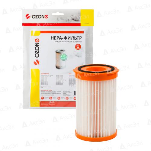 НЕРА фильтр для пылесоса ELECTROLUX, AEG, 1 шт., бренд: OZONE, арт. H-13, тип оригинального фильтра: EF75B