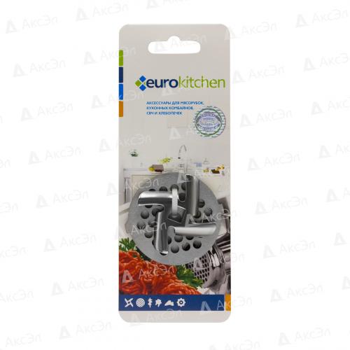 NR1202 Набор нож и решетка Eurokitchen для мясорубки/кухонного комбайна