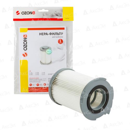НЕРА фильтр для пылесоса LG, 1 шт., бренд: OZONE, арт. H-15, тип оригинального фильтра: 5231FI3768A