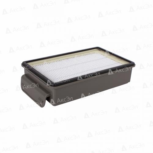 HEPA фильтр для пылесоса TEFAL, ROWENTA, 1 шт., многоразовый моющийся, бренд: OZONE, арт. H-100, тип оригинального фильтра: ZR903501