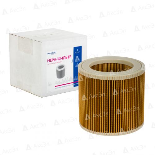 Фильтр складчатый для пылесоса KARCHER, 1 шт., сухая пыль/целлюлоза, бренд: EUROCLEAN, арт. KHPMY-WD2000, код. 6.414-552.0