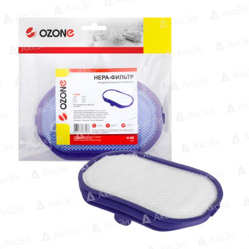 НЕРА-фильтр для пылесоса DYSON DC30, DC43H, DC56, 1 шт., бренд: OZONE, арт. H-89, тип оригинального фильтра: 917066-02