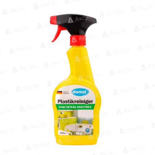 169021 Средство Domal для чистки пластмассовых поверхностей и предметов, 500 мл