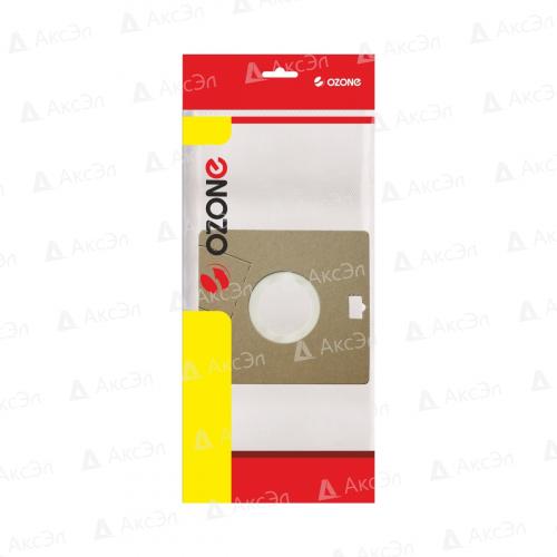 XS-24 Мешки-пылесборники Ozone синтетические для пылесоса, 2 шт