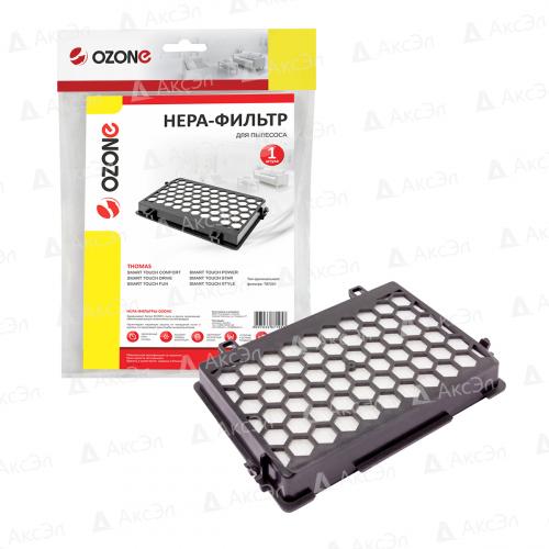 HEPA фильтр для пылесоса THOMAS, 1 шт., многоразовый моющийся, бренд: OZONE, арт. H-56, тип оригинального фильтра: 787251