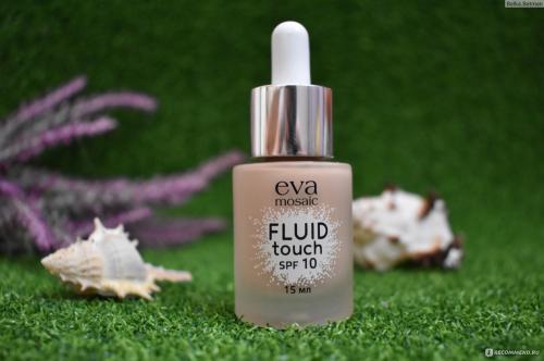 EVA Тональный крем-флюид Fluid Touch, 15 мл, 03, светло-розовый