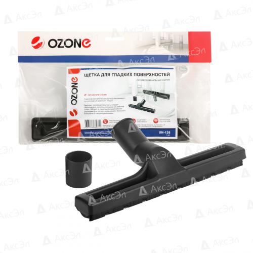 UN-126 Универсальная щетка для профессионального пылесоса Ozone с синтетическим ворсом, под трубку 32 и 35 мм