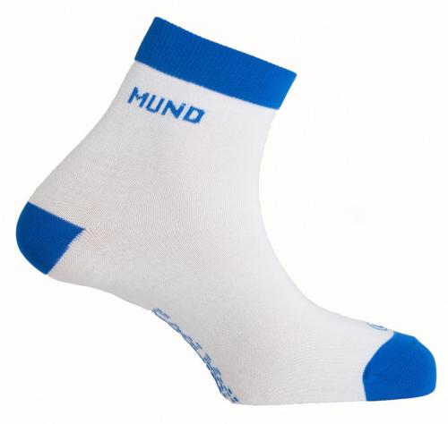 373р. 710р. 803 Cycling/Running носки, 11/3- белый/синий