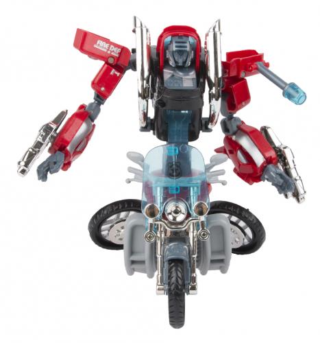 Трансформер Robotron Megapower Робот-мотоцикл, в ассортименте 15.5 см
