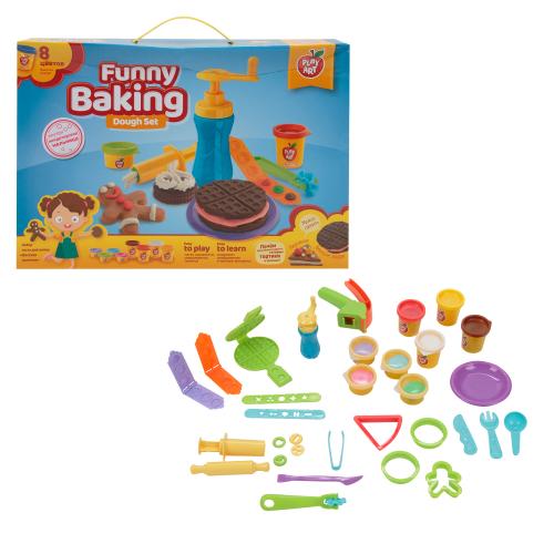Тесто для лепки Play Art Весёлая выпечка