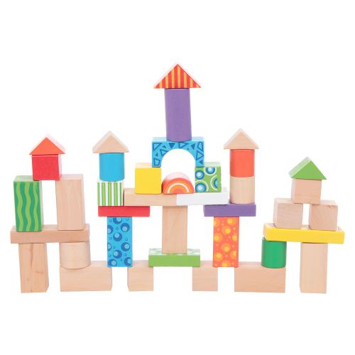 Набор для конструирования Деревянный городок Развитика