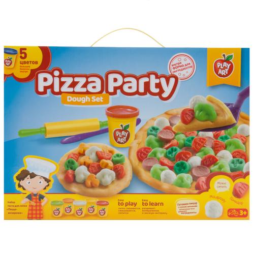Набор для лепки Play Art Пицца-вечеринка