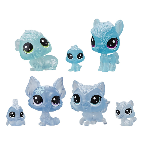 Игровой набор Littlest Pet Shop 7 петов. Холодное царство, в ассортименте