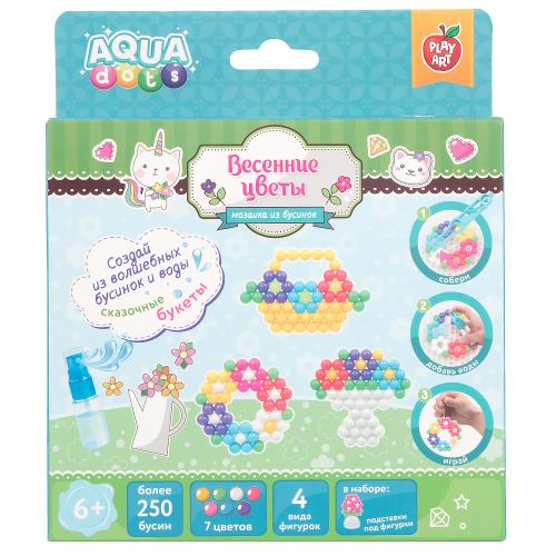 Набор для творчества Цветы Весенние цветы PLAY ART AQUA dots