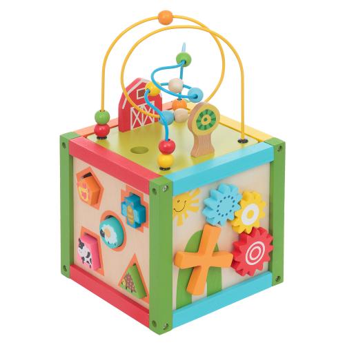 Бизиборд Куб 5в1 Развитика