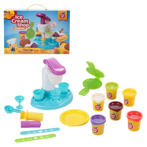 Набор для лепки Play Art Магазинчик мороженого