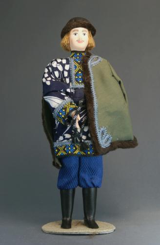 Кукла сувенирная фарфоровая. Март.Сказочный персонаж.