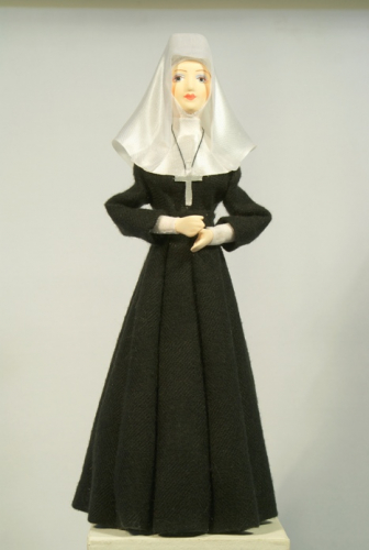 Монахиня католическая.