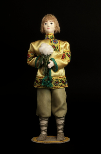 Кукла сувенирная фарфоровая. Июнь. Сказочный персонаж.
