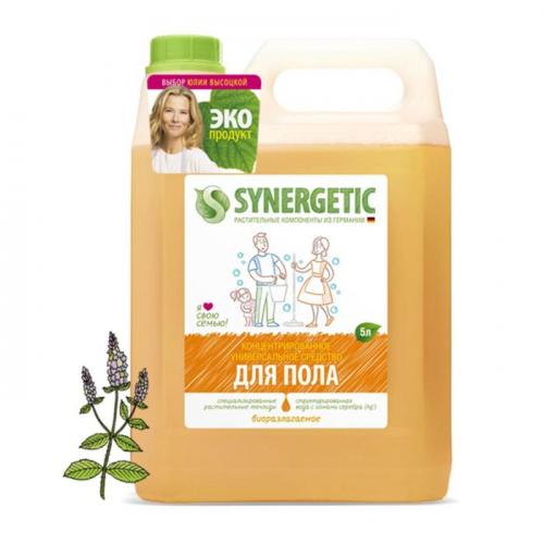 Средство для мытья полов, стен и поверхностей Synergetic, 5л
