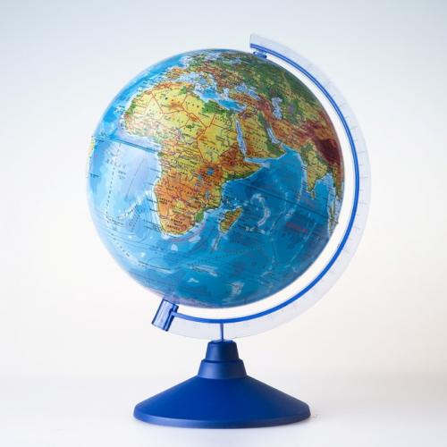 Глoбус физический «Классик Евро», диаметр 250 мм