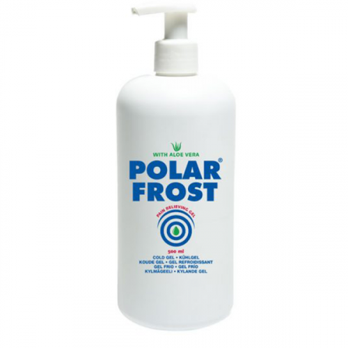 Охлаждающий гель Polar Frost, флакон с дозатором 500 мл