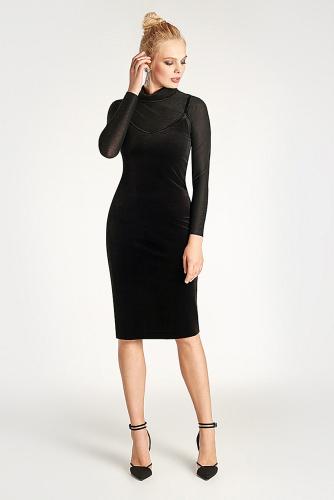Платье #179247Черный
