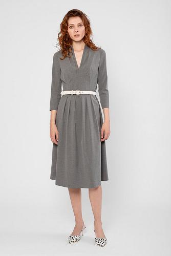 Платье #180618Серый