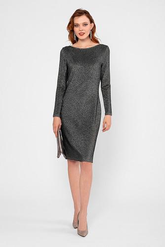 Платье #180826Серебряный