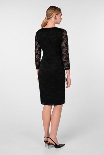 Платье #180828Черный