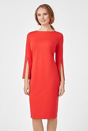 Платье #180210Красный