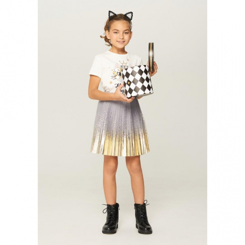 Юбка детская для девочек Streamers-Inf серый