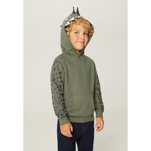 Джемпер детский для мальчиков Tucana зеленый