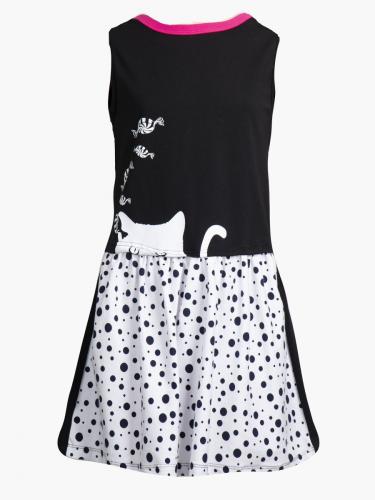 Платье свободного силуэта 201214206а