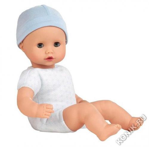 Кукла Маффин, мальчик в голубом боди, 33 см