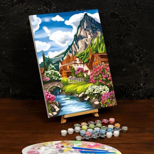 Картина по номерам на холсте с подрамником «Пейзаж» 30×40 см