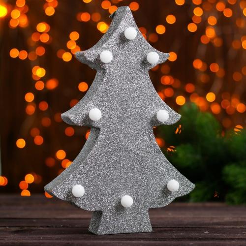 Новогодний декор с подсветкой