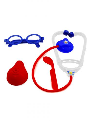Altacto Игровой набор доктора (4 предм., блистер, 19х28х3 см., синий-красный)