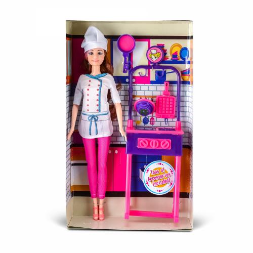 Набор с куклой