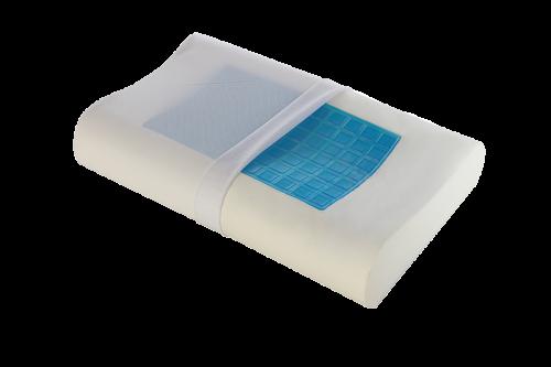 Анатомическая подушка OrtoCorrect с эффектом памяти Termogel