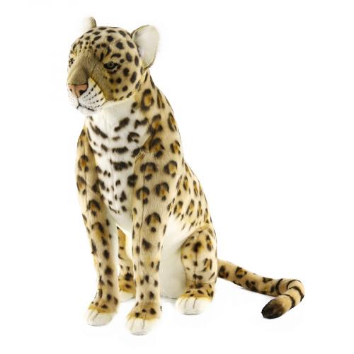 4167 Леопард сидящий 65 см