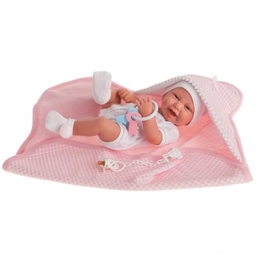 5038 Кукла Луиза в розовом, 42 см