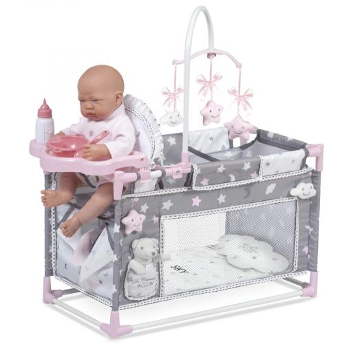 53124 Манеж-игровой центр  для куклы  с аксессуарами серии Скай, 59 см
