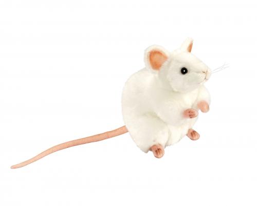 5323 Белая мышь, 16 см