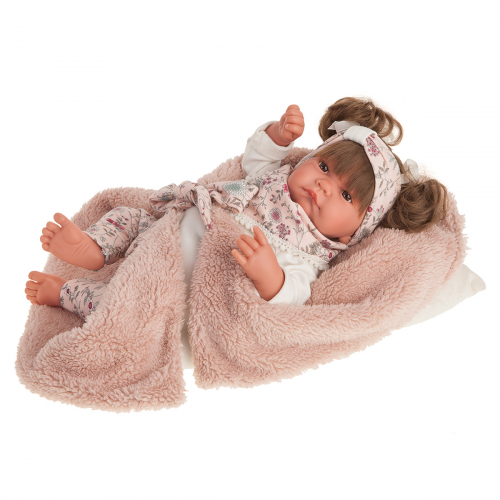 3310 Кукла Сильвия в розовом, 40 см