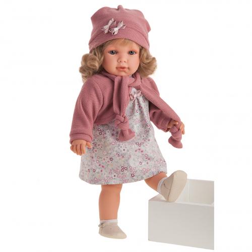 1828 Кукла Абрил в розовом, 55см