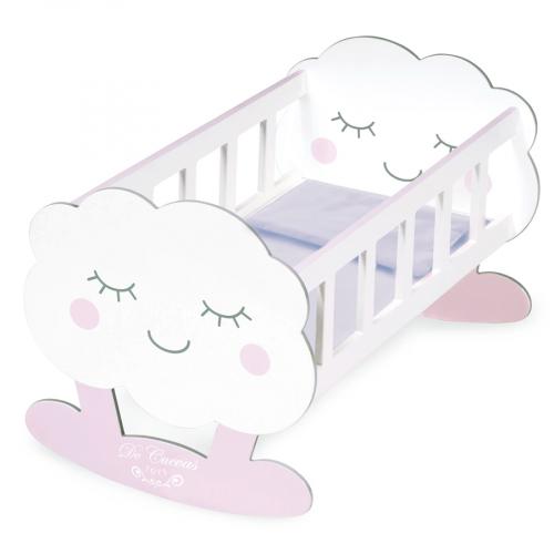 55129 Кроватка-качалка для куклы с аксессуарами серии Мартин,49 см