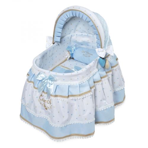 51127 Кроватка для куклы с козырьком серии Кэрол,46см