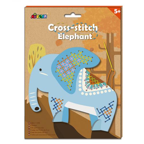 CH1435 Набор для вышивания крестиком. Слон