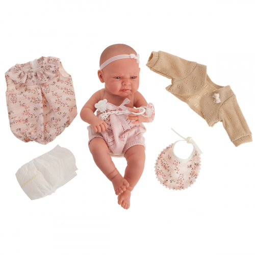 5082 Кукла Соня в розовом, 42 см